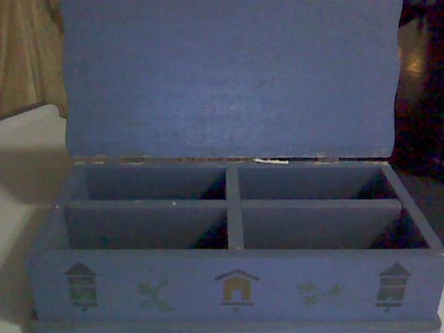 caja de madera para té