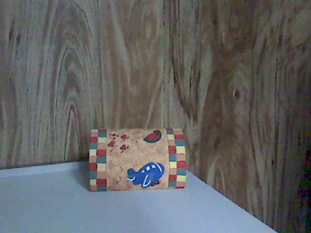 buzón de cartón infantil